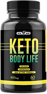 Keto Diet Pills for Keto Diet - Weight Loss Supplement for Men and Women - Fat Burning Carb Blocker - Advanced Formula with Exogenus Ketones - 60 Capsules