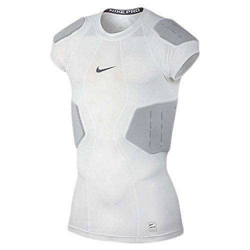 (Nike Pro Mens Hyperstrong Core Football Shirt White)