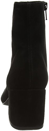 Vagabond Womens Pointed Black Winter Boots Ankle Suede Olivia Fashion Toe gngqxWArFw