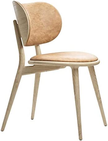 The Dining Chair stoel mat eiken mat gelakt