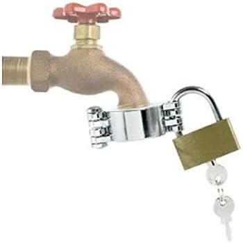 Amazon.com : American Valve Bronze Hose-Bib Lock : Garden