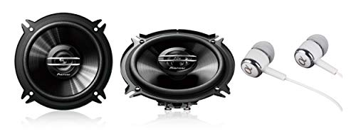 New Pair Pioneer 500 Watts Max 5-1/4″ 2-Way 4 ohms Full Range Coaxial Car Audio Stereo Bass Woofer Loud Speakers 5.25″