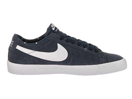 Nike SB Blazer Low Schwarz Leder/Wildleder Sneaker Obsidian/White/Gum Light Brown