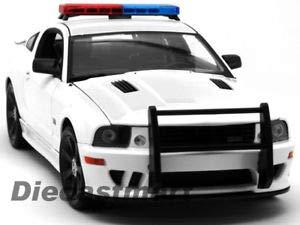 Saleen Mustang Body (BDCAT Welly 1:18 2007 Saleen Mustang S281E Police Version WHT)