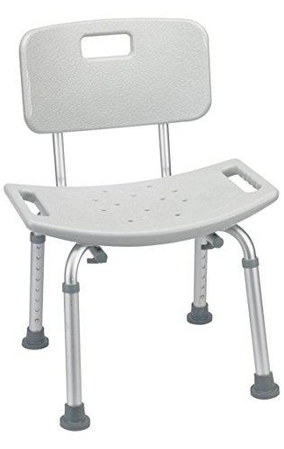 Aluminum Bath Chair - Shower Bench Chair With Handle - Wi...