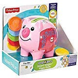 Fisher-Price Laugh & Learn: Learning Piggy Bank Light Piink