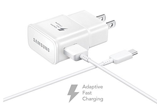 Cheap Wall Chargers T-Mobile Samsung Galaxy S8+ Adaptive Fast Charger Type C Cable Kit! [1..