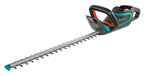 Tijeras cortasetos con batería PowerCut Li-40/60 de GARDENA: cortasetos con batería y cuchilla de 60 cm de longitud, cuchilla protegida contra ...