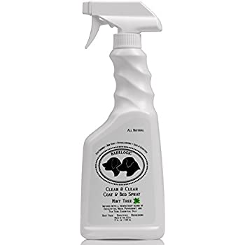 BarkLogic Natural Clean & Clear Coat & Bed Spray for Pets, 17 oz Mint Tree