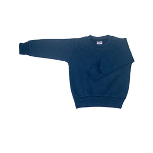 Rabbit Skins 3317 7.5 oz Toddler Sweatshirt,5/6,Navy