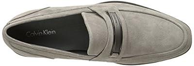 Calvin Klein Men's Douggie Oily Suede Slip-On Loafer