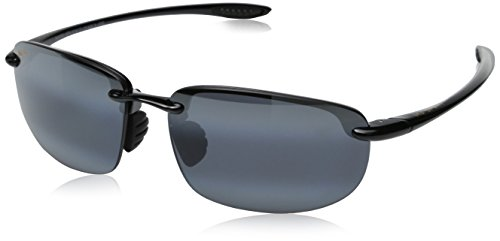 New Maui Jim Sunglasses Mens 407N Black 2 MJ 407 64mm