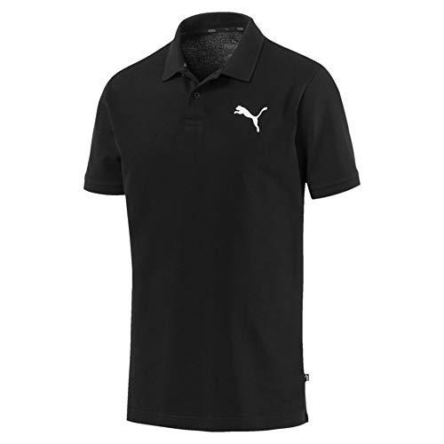Homme T Polo Cotton shirt Ess cat Black Puma T XqwOOC