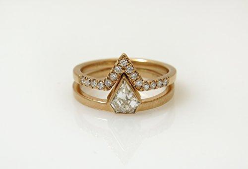 0.58 Ct Radiant Diamond - 2