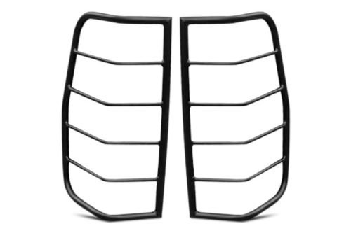 TAC Custom Fit 1999 1/2-2004 NISSAN PATHFINDER/2001-2004 INFINITI QX4 TLG BLACK Taillight Covers Tail Light Guards
