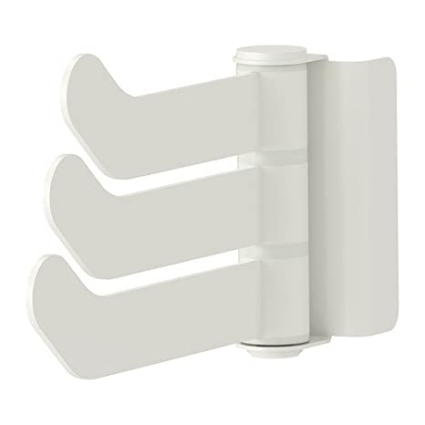 Algot Ikea Triple Gancho Con Bracket Blanco 15 Cm Amazones Hogar