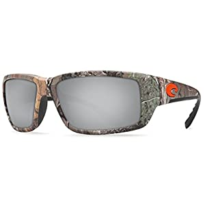 Costa Del Mar Fantail Sunglass, Realtree Xtra Camo/Silver Mirror 580Glass