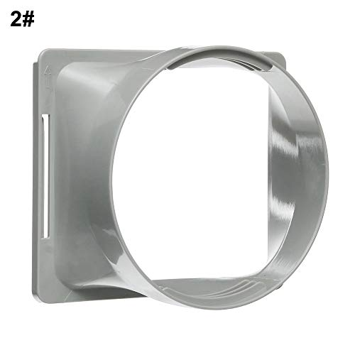 (yanQxIzbiu 5.9inch Dia Exhaust Duct Interfacefor Portable Air Conditioner L/F C/H Series 2#)