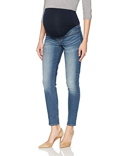 Signature by Levi Strauss & Co. Gold Label Women's Maternity Skinny Jeans, Blue Ice, Small