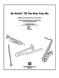 Download Do Nothin' Till You Hear from Me PDF