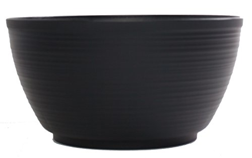 Bloem PB15-00 Dura Cotta Planter Bowl, 15-Inch, Black Review
