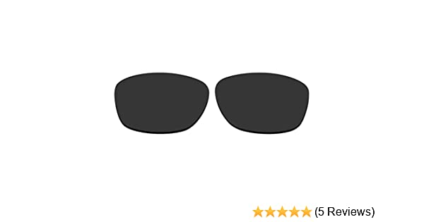 479491d6e04 Amazon.com  ACOMPATIBLE Replacement Polarized Lenses for Oakley Pit Bull  Sunglasses OO9127 (Black)  Clothing