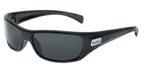 Bolle Women's Sport Copperhead Sunglasses (Shiny Black, - C.s. Sunglasses