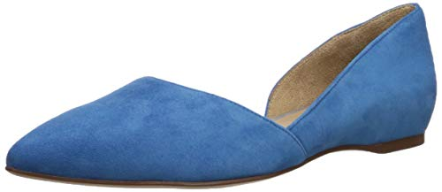 Naturalizer Women's Samantha Pointed Toe Flat, Admiral Blue, 4 M US from Naturalizer