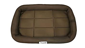 Eaststar Crate Mat, Crate Bed, Nap Mat, Bolstered Pet Bed, Bolstered Dog cat Bed, Pet Bed for Medium Dog cat and Small Dog cat