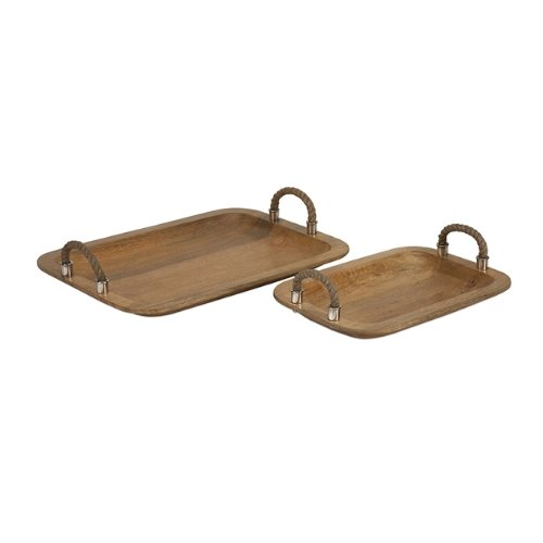 71727 2 Tabari Trays Handle 2 Pack