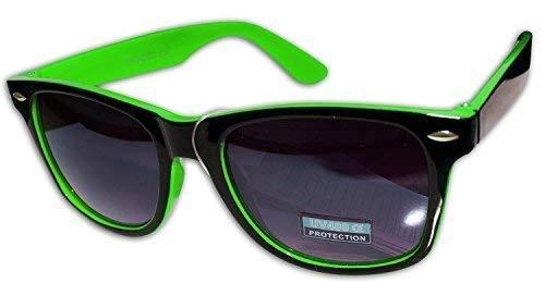 MUJER SOL GRADIENTE LENTO marca MONTURA Sin NEGRO de FLUORESCENTE Genérico VERDE DE HOMBRE A sol gafas WAYFARER GAFAS Rgq8xBwqp