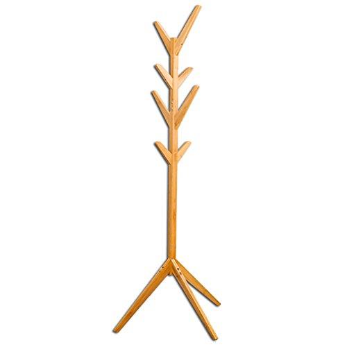 LIANGJUN Floor Standing Coat Rack Hat Stand Hanger 8 Hooks H