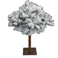 32inch Frosted Umbrella Tree - Flocked Artificial Christmas Tree ...