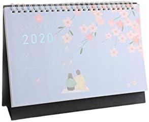 Currentiz Tischkalender 2019-2020 Stehender Tischquerkalender Querterminbuch Wochenplaner Monatsplan Aufgabenliste Schreibtischkalender Daily Von Juli 2019 Bis Dezember 2020
