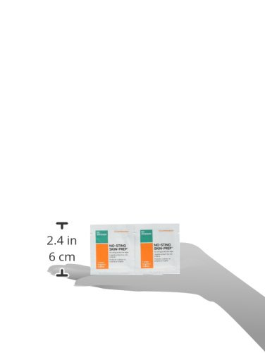 Amazon.com: No-Sting Skin Prep Wipes 59420600 - Box of 50: Health & Personal Care