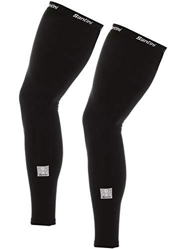 (Santini Totum Leg Warmers Black, XS/S)