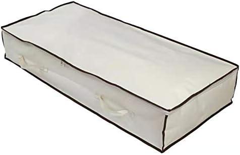 Mantas Ropa su/éteres edredones 100 x 75 x 20 cm 150 litros Qiluck Bolsa de Almacenamiento de Gran Capacidad para edredones Ropa de Cama