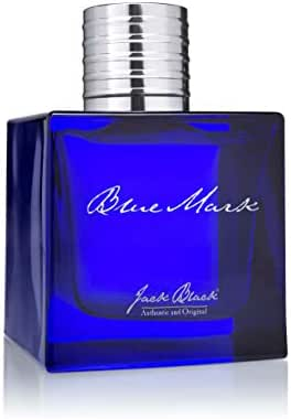 Jack Black - Blue Mark Eau de Parfum, 3.4 fl oz - Everyday Scent, Essential Oils, Watermint, Cilantro, Japanese Juniper, Ginger Essence, Driftwood, Patchouli, Bergamot, Refreshing Scent