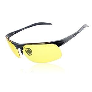 Duco Night-vision Glasses Polarized Night Driving Men's Shooting Glasses 8177