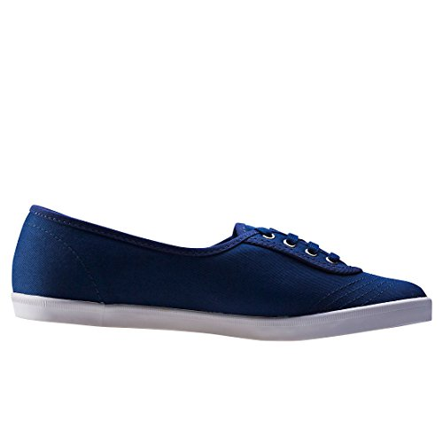 ... Fred Perry Aubrey Dames Trainers Marine