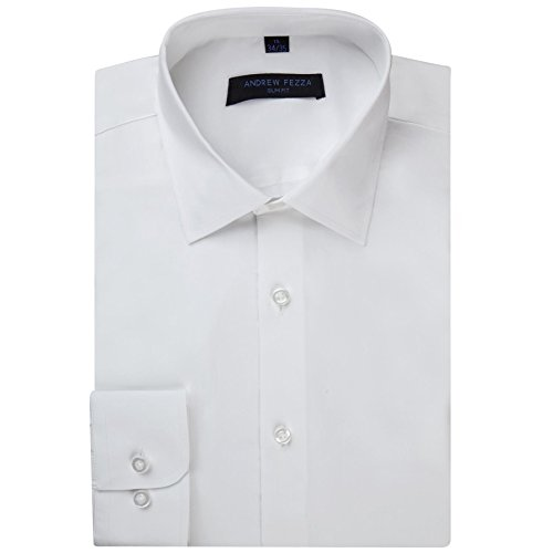 Andrew-Fezza-Mens-Slim-Fit-Long-Sleeve-Solid-Cotton-Dress-Shirt-Colors