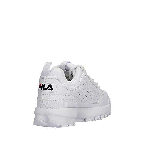 Bianco Bianco Sneakers Distruptor 1fg Fila Kids 28 1010567 AUvTqwxa