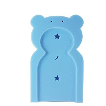 First Steps Baby Bath Support Sponge in Teddy Bear Shape for ...