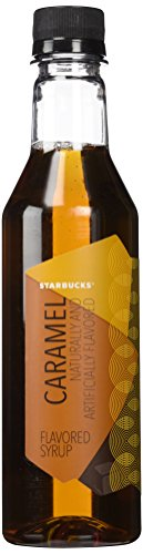 Starbucks Caramel Flavored Syrup 12 Oz
