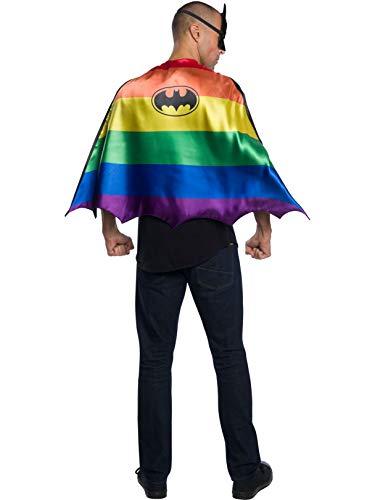Rubie's DC Comics Reversible Pride Cape, Batman, One Size