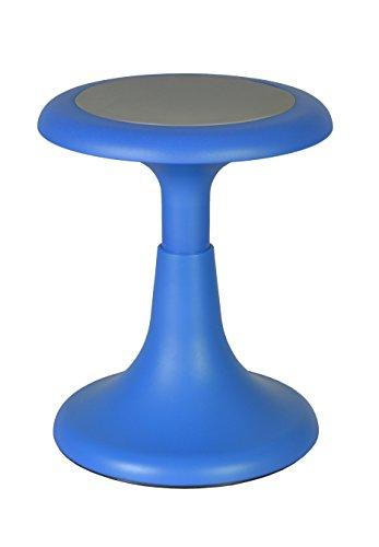 Regency 1620BE Glow 15'' Stool, Blue by Regency