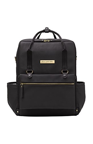 (Petunia Pickle Bottom Balance Backpack, Black Matte)