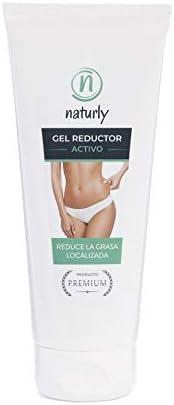 Gel Reductor Activo. Gel adelgazante Reductor potente, que Reafirma y Tonifica la Piel. Reduce la grasa localizada. Efecto quemagrasas potente para adelgazar. 200 ml