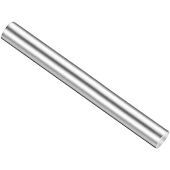 uxcell Stainless Steel Solid Round Rods Metal Lathe Bar Stock for DIY Craft 200mmx2.5mm 10pcs