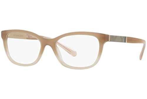 Burberry Women's BE2232 Eyeglasses Matte Beige Gradient 53mm